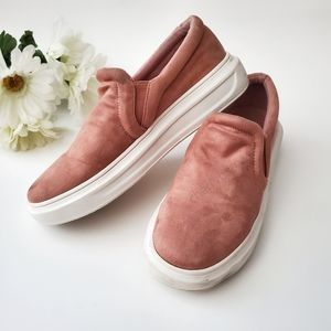 FOREVER21 Faux Suede Sneakers Size 8